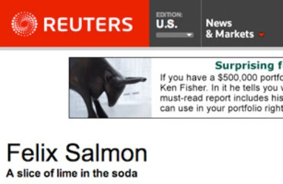 Felix Salmon Best Daily Finance Blogs Worth Subscribing To