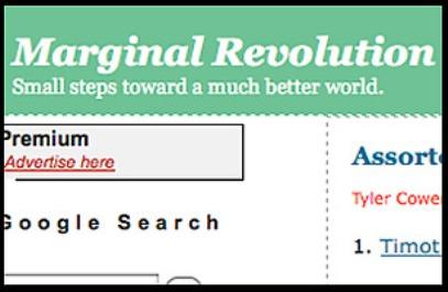 Marginal Revolution