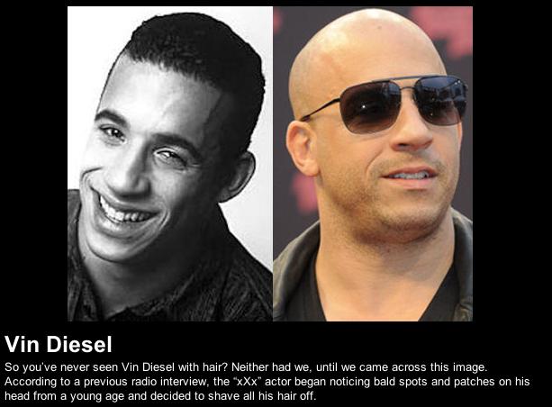 Vin Diesel's Hair